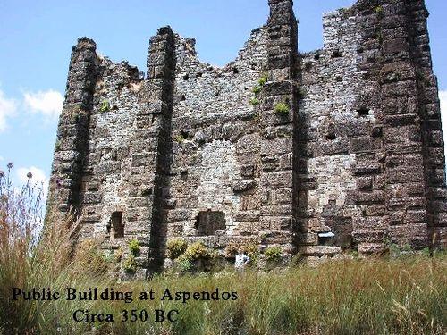 Public building Aspendos 2