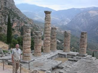 Blog David Levine at ruins