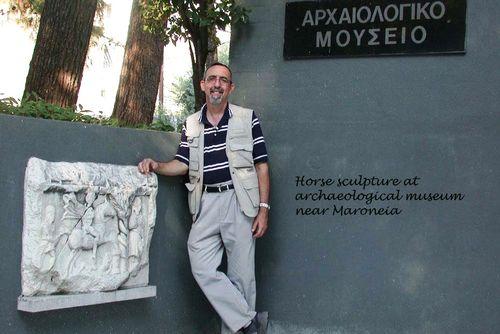 Horse sculpture Maroneia 3 15X10