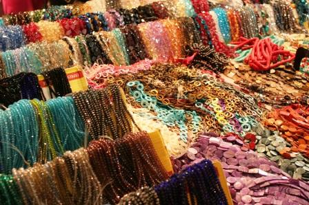 Tucson beads galore