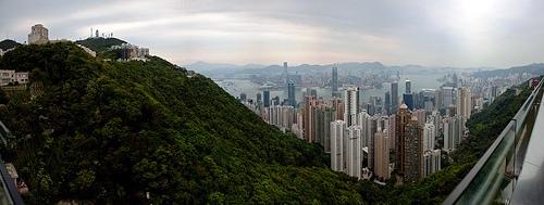 B WT HK Victorias Peak
