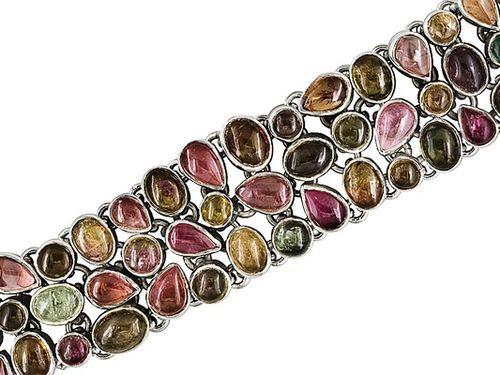 B JS tourmaline bracelet