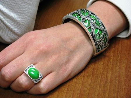 B SM cuff bracelet