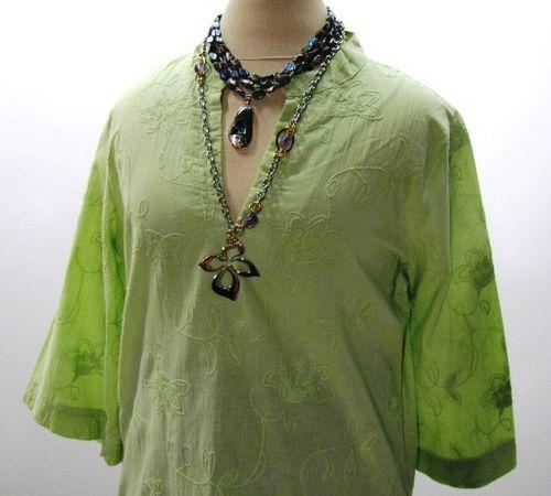 B SM Green Tunic