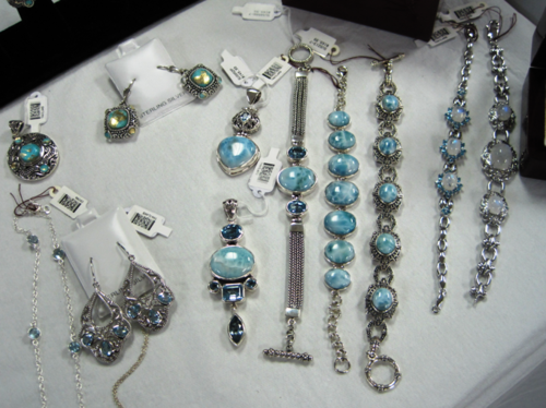 B holiday preview blue gems