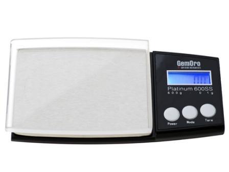 GemOro 600ss Scale