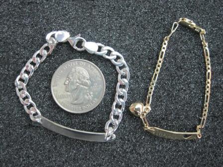 B Bracelets with Quarter