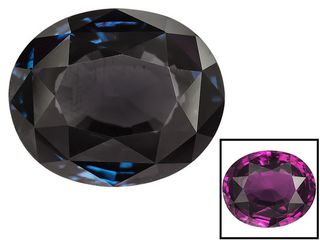 JTV Vault Blue Color Change Garnet