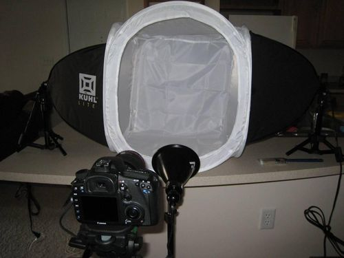 Fred's light box setup