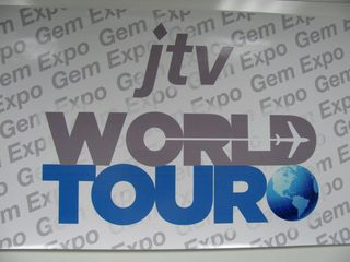 JTV Gem Expo World Tour 2011-Gem Expo sign