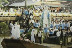 JTV World Tour Thailand Arrival of Statue of Mary for the Cathedral of the Immaculate Conception in Chantaburi Thailand