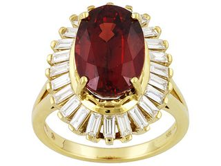 JTV Vault Ruby and Diamond Ring, 18kt Gold