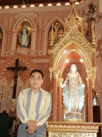 JTV World Tour Thailand JTV Buyer Choi at the Church of the Immaculate Conception Chantaburi Thailand