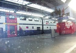 JTV Watches Baselworld 2011 train