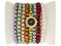 Pearl bracelet watch set on jtv