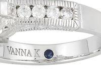 Vanna K for Bella Luce sapphire simulant inset jtv