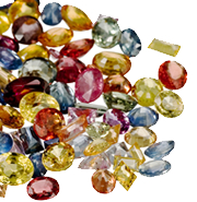 Jtv.com multicolor sapphire gems