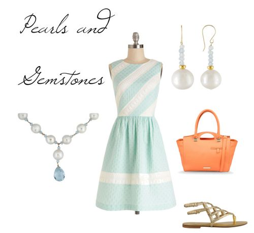 Pearls and Gemstones
